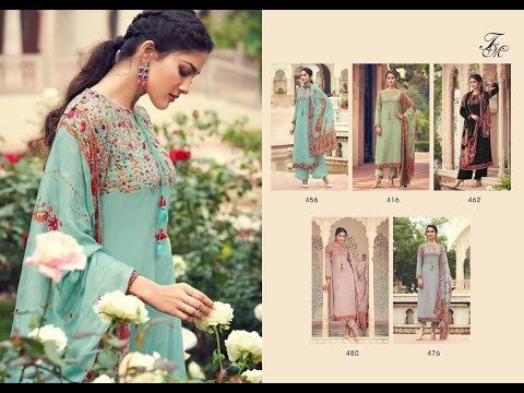Sahiba Tu0026M Siyahi Pure Silk Designer Salwar Kameez Wholesaler|| Latest Design Of Pure Silk Suit 2021