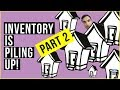Real Estate SLOWDOWN Coming as Inventory PILING UP! Canada Can't Handle the Massive Debt!