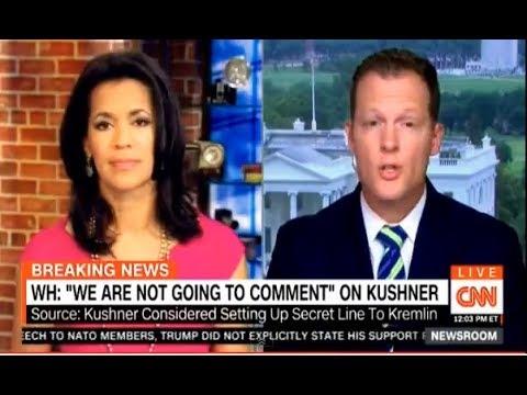 CNN Newsroom With Fredricka Whitfield 05/27/17: WH: