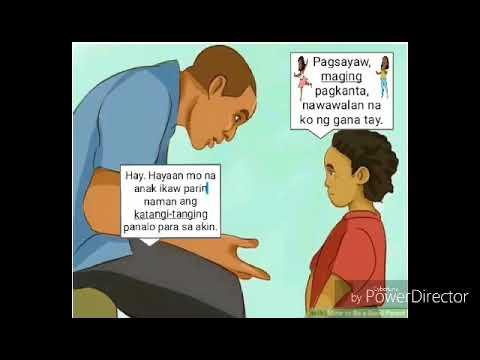 Pangatnig ang ama at anak