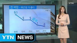 [날씨] 비 그친 뒤 찬 바람...내일 서울 -3℃ /…
