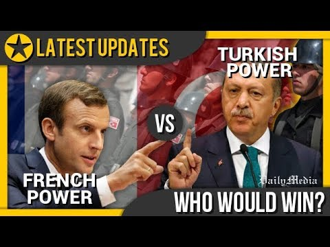 France vs Turkey - Military Power Comparison 2018 (Latest Updates)