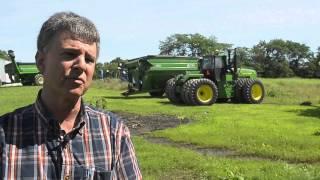 A farmer talks about crop insurance