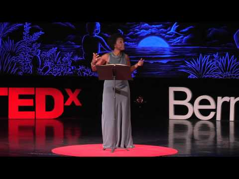 What determines who we are?  Adjoa Andoh  TEDxBermuda
