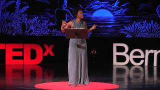 What determines who we are? | Adjoa Andoh | TEDxBermuda