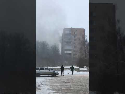 Черноголовка , Пожар , Школьный б/р дом11