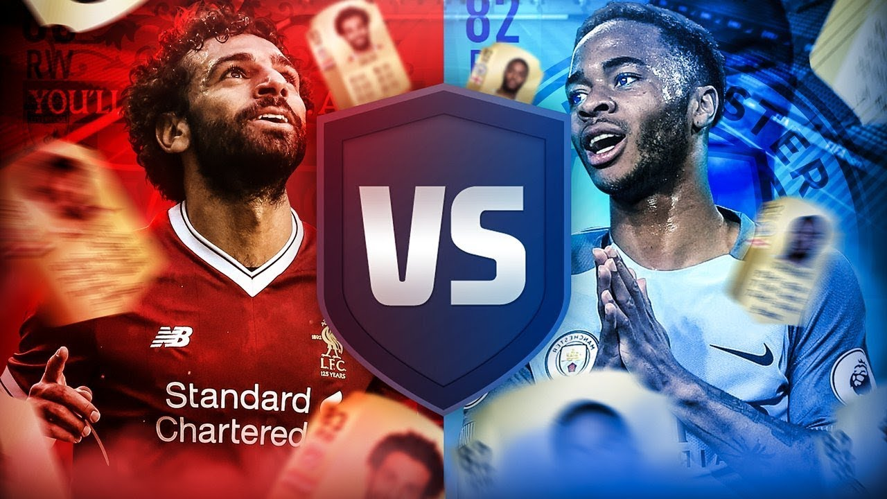SALAH VS STERLING!!! - FIFA 18 Ultimate Team - YouTube