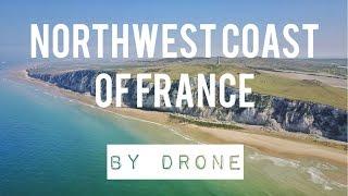 SHORT DRONE VIDEO (4K): NORTHWEST COAST OF FRANCE