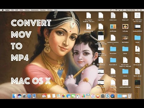 Convert Mov To Mp4 In Mac OS X With FFMpeg