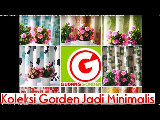 Koleksi Gorden Murah Tirai Minimalis Untuk Jendela Rumah Minimalis Modern 085287651175 #gudanggorden