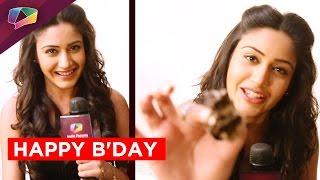 Surbhi Chandna's birthday bash with her co-stars