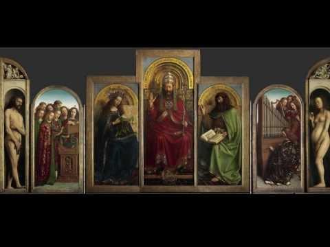 Jan van Eyck, The Ghent Altarpiece (2 of 2)