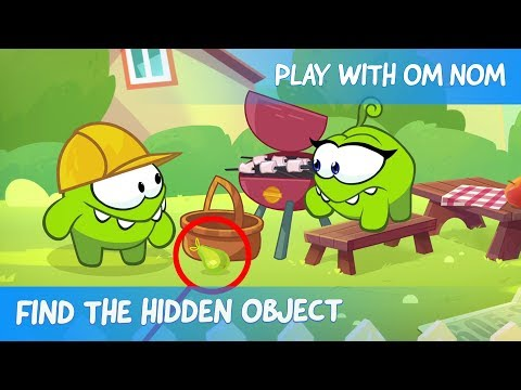 Find the Hidden Object - Om Nom Stories: Engineer (Cut the Rope)