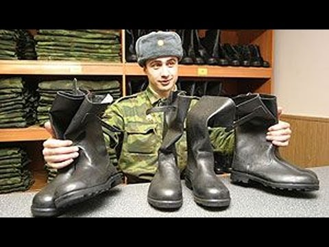 History Of Combat Boots In Russian Army