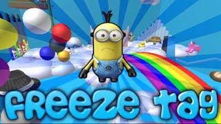 roblox freeze tag ep 3 - stuck haa haaa