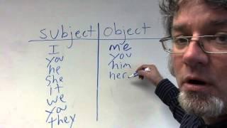 Object Pronouns