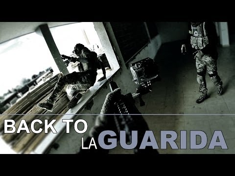 Capsule Airsoft España | Back to LA GUARIDA (CQB) | Picanya, Valencia | (GoPro HERO 3+ Black)