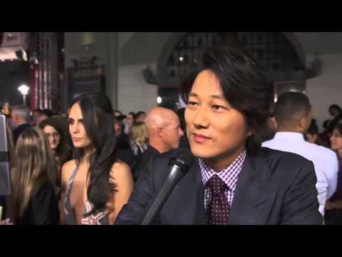 Furious 7: Sung Kang Official Red Carpet Movie Premiere Interview
