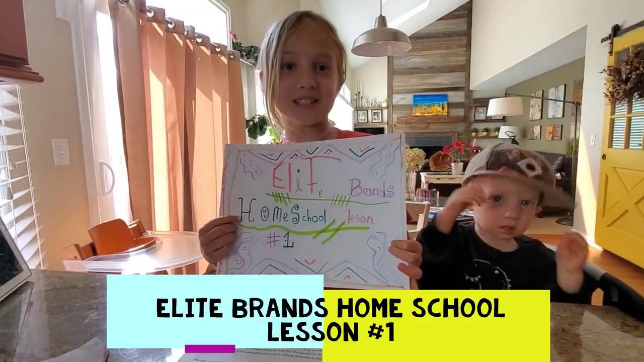 Thanks, Elite Brands Home Schooling!