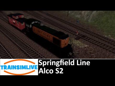 Train Simulator 2018 - Freight: The Yard - ALCo S2 on Springfield Line