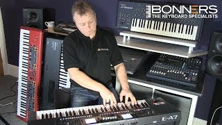 Roland EA7 Keyboard UK Mega Style Demo Lots Of Playing
