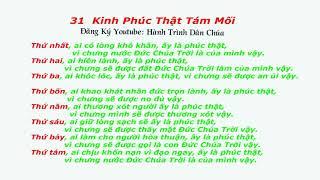 Học Giáo Lý Hôn Nhân Bài 31 Kinh Tám Mối Phúc Thật