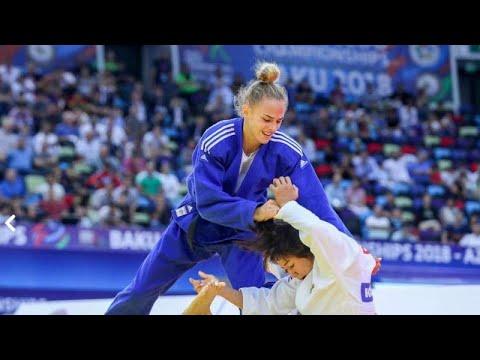 Judo: Daria Bilodid Campeã do Mundo aos 17 anos