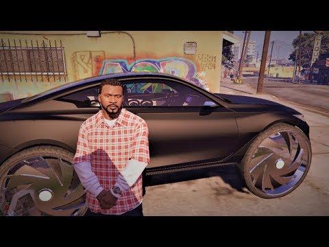 GTA 5-2016 Infiniti Q60 Concept on 32 inch Dub Rims
