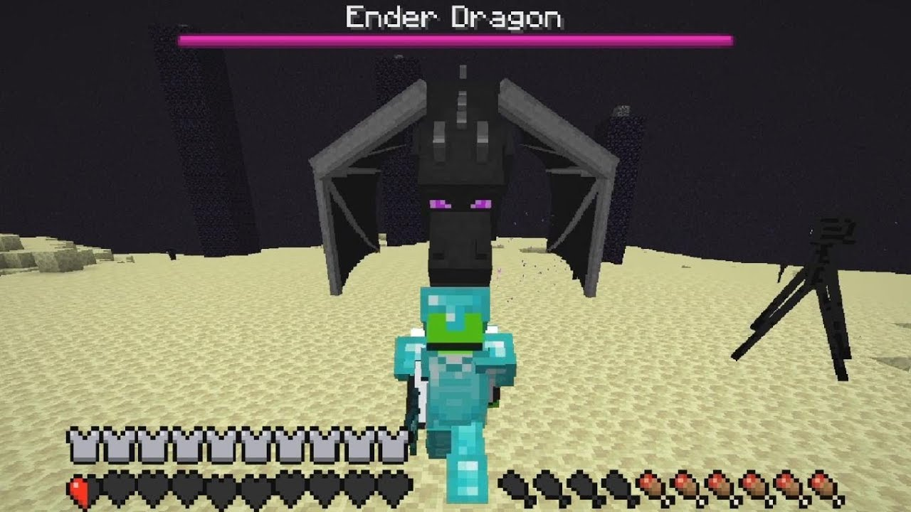 What If A Player Controlled The Ender Dragon Youtube