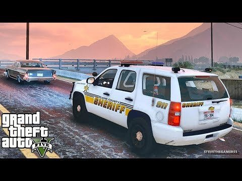GTA 5 MODS LSPDFR 790 - SHERIFF PATROL !!! (GTA 5 REAL LIFE PC MOD)