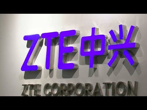 Chinese telecom giant ZTE says US ban will hurt the company, other firms