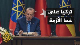 أردوغان يعلن استعداد تركيا للوساطة من أجل حل النزاع بين إثيوبيا والسودان