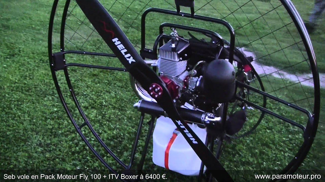 paramoteur seb vole en pack moteur fly 100 itv boxer 6400 youtube. Black Bedroom Furniture Sets. Home Design Ideas