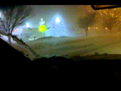 Winter blizzard, Feb. 1, 2011, Burlington, IA