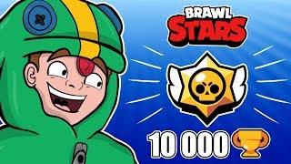 WBIJAMY 10 000 PUSZEK Z SITROXEM!  - BRAWL STARS