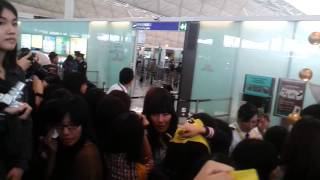 121201(Fancam)EXO@HongKong Airport