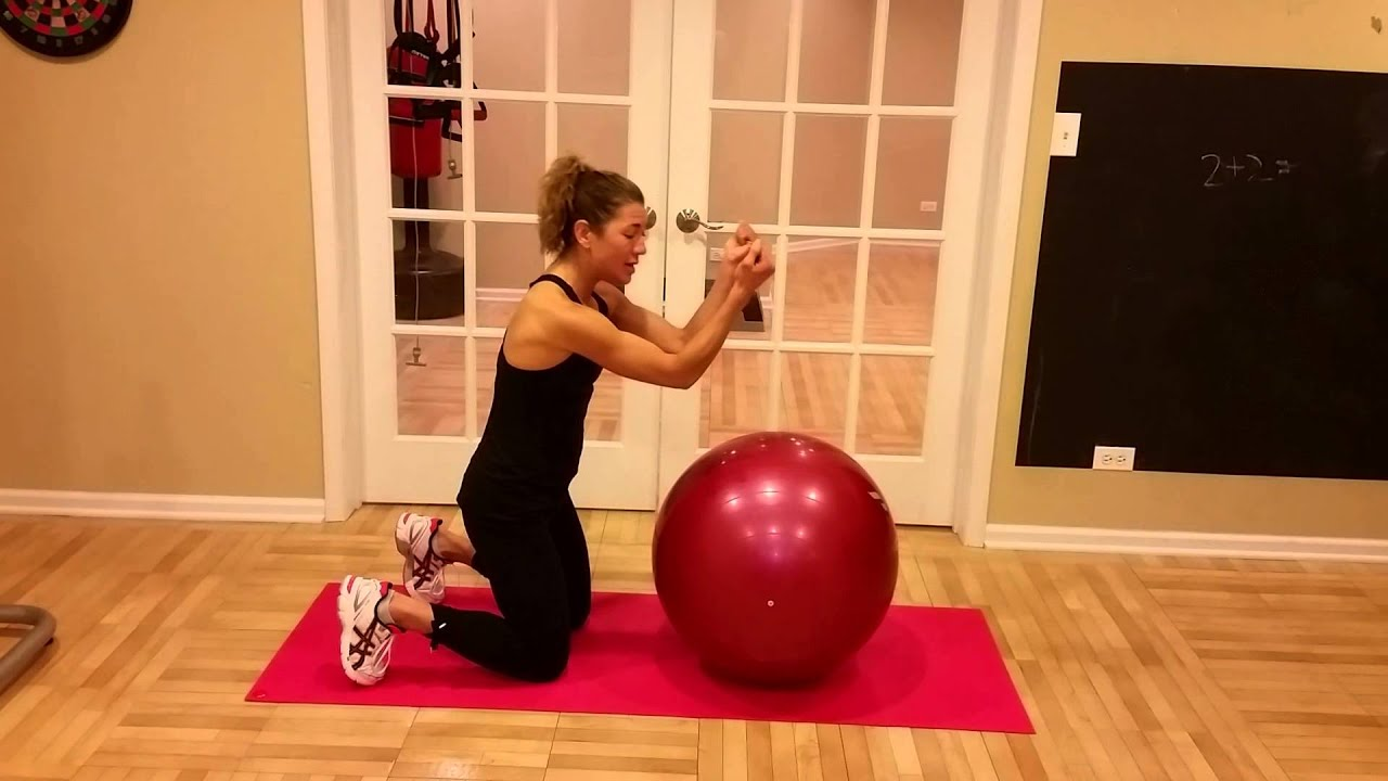 EveryBody Fitness-3 Part Core w/ Stability Ball - YouTube
