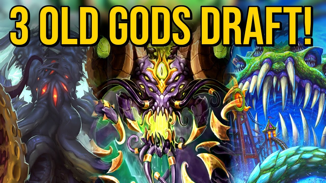 The Draft Offered 3 OLD GODS?! Glorious! | Shaman Arena | Hearthstone