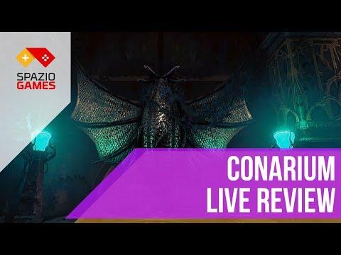 Conarium: Live Review con Spaziogames.it