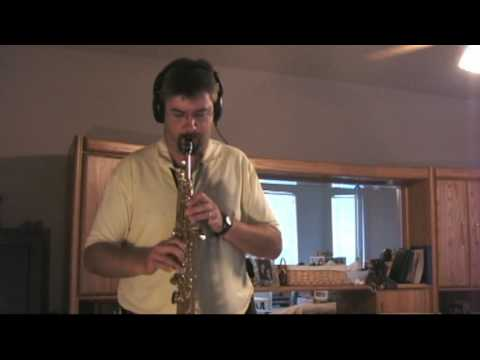 "David Samuels' ""One Step Ahead"" on my Soprano Sax"