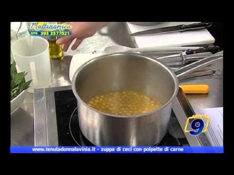 Zuppa di ceci con polpette | A SCUOLA DI CUCINA | Tenuta Donna Lavinia