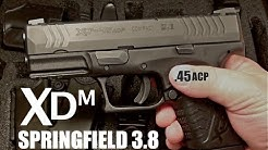 Springfield XDM 3.8 45ACP Review