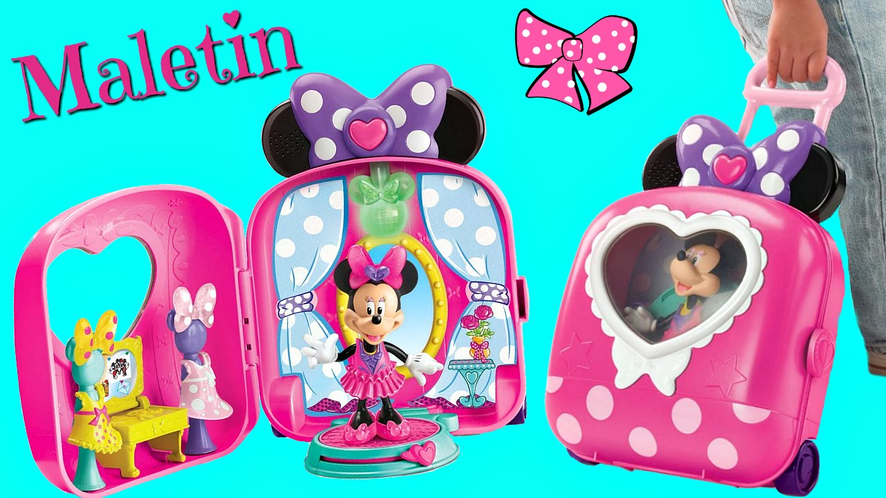 comprar auténtico seleccione original Excelente calidad Maletín Portátil Minnie Mouse Bowtique •Colegio de Jugetes