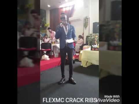Flexmc crack ribs @a wedding ceremony.