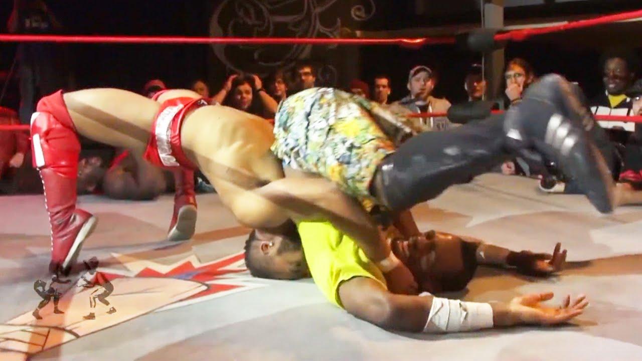[Free Match] Jonathan Gresham vs. Moose vs. Black Baron vs. Charade | Beyond Wrestling (AEW IMPACT)