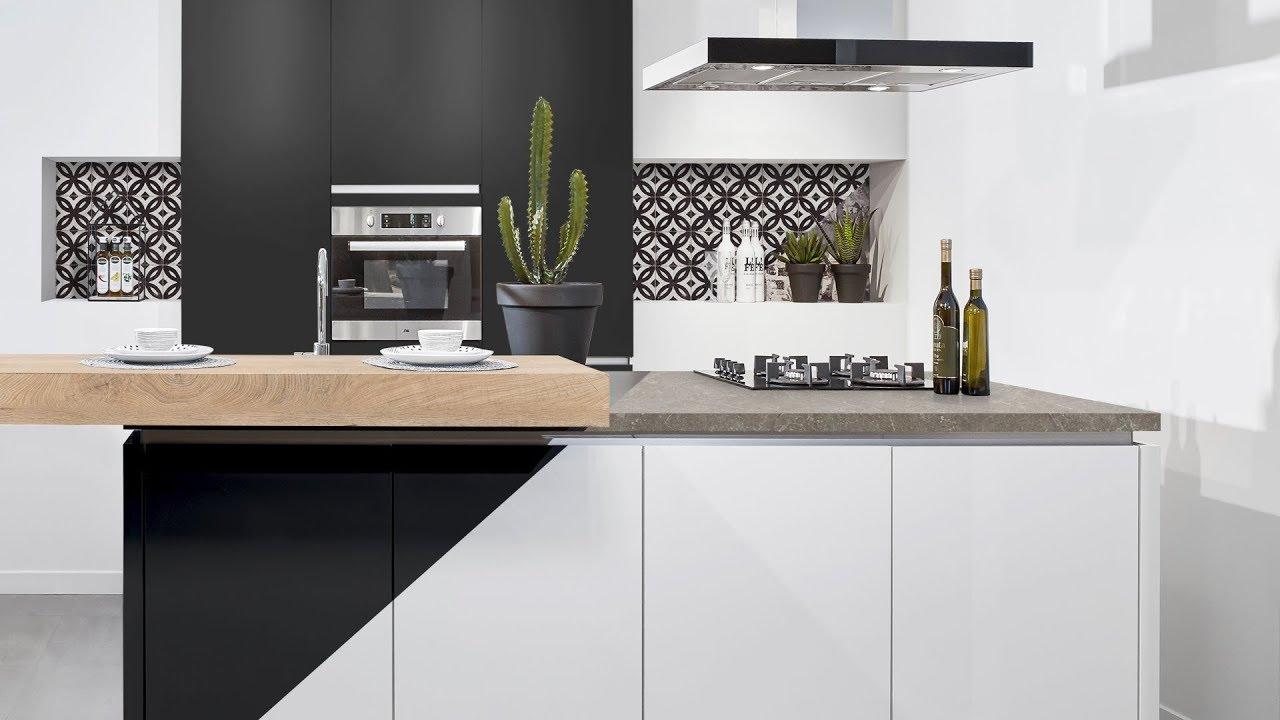 Moderne Keuken Kleuren : Moderne keuken in verschillende kleuren youtube