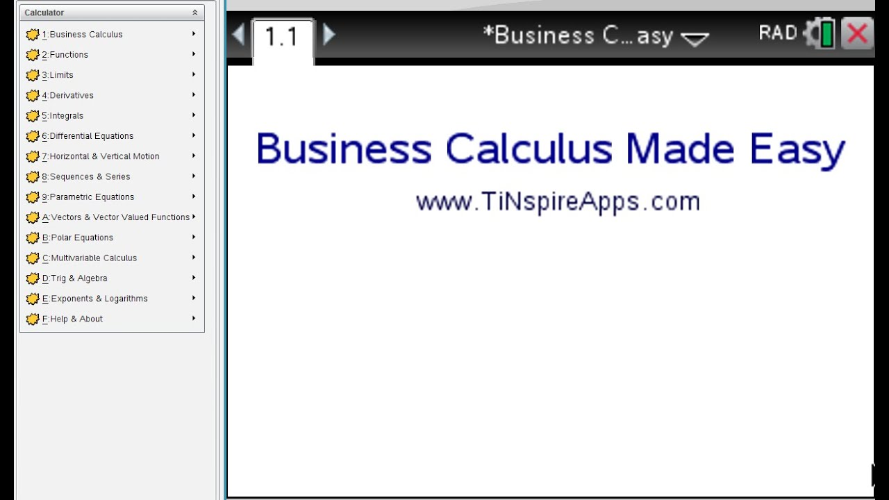 Business Calculus Made Easy Step By Step With The Ti