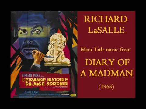 Richard LaSalle: music from Diary of a Madman (1963)