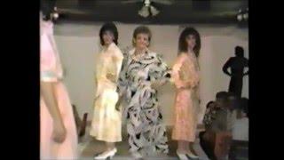 Défilé de mode Confection Francine 1987