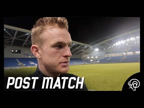 POST MATCH | Alex Pearce Post Brighton & Hove Albion (A)